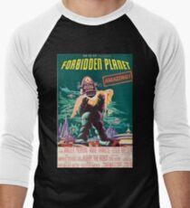 Forbidden Planet, vintage sci-fi movie poster T-Shirt
