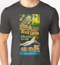 Creature from the Black Lagoon - vintage horror movie poster Unisex T-Shirt