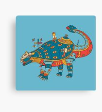 Dinosaur, from the AlphaPod collection Canvas Print