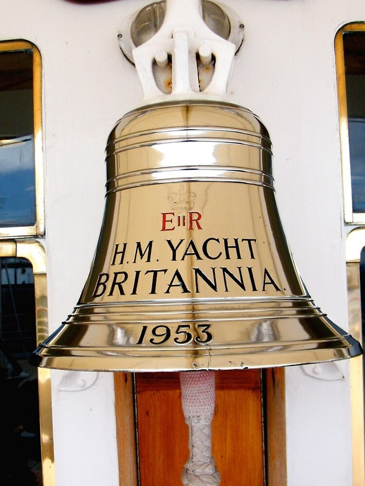 Ship's Bell, Royal Yacht Britannia by robsteadman