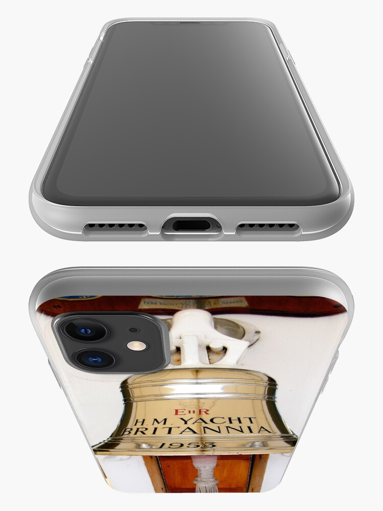 Alternate view of Ship's Bell, Royal Yacht Britannia iPhone Case & Cover
