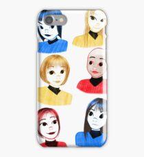 Genderbent TOS Sketch - Star Trek iPhone Case/Skin