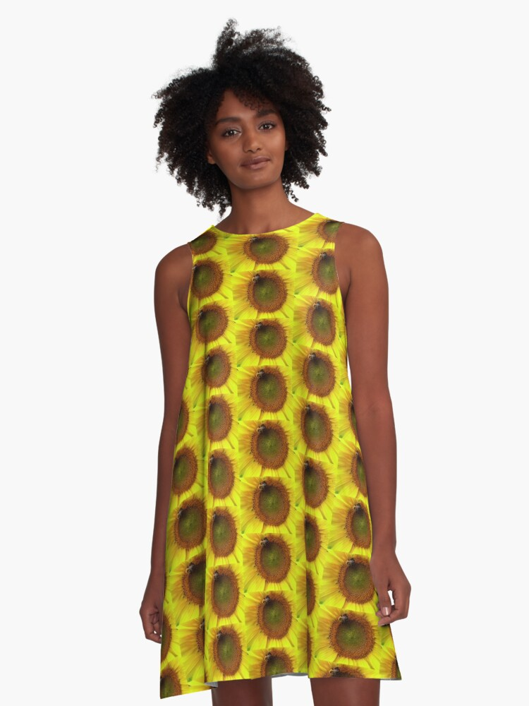 Bee on the Sun A-Line Dress Front