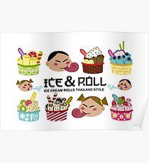 Ice Cream Rolls Poster