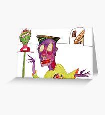 Art Admirer Greeting Card