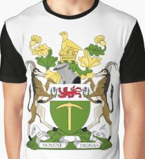 RHODESIA COAT OF ARMS Graphic T-Shirt