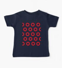Jon Fishman - Phish Drummer Red Circle Print Baby Tee