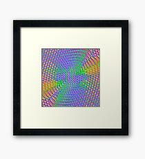 Pattern loud Framed Print