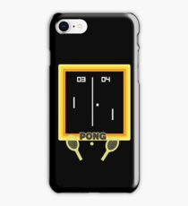 Pong iPhone Case/Skin