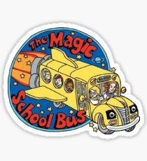 Magic School Bus Sticker