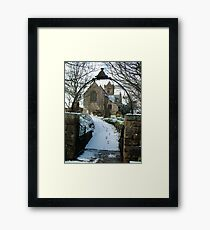 Easington Church--North Yorks Framed Print