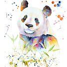 « Aquarelle de panda » par cindybarillet