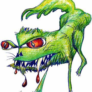 Angry Kitty  by Hoffard