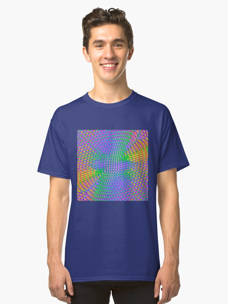 Alternate view of Pattern loud Classic T-Shirt
