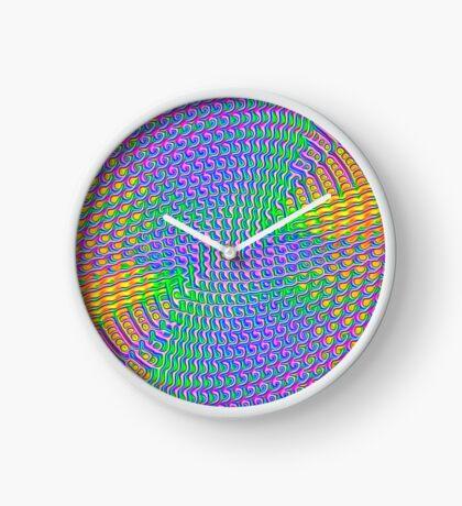 Pattern loud Clock