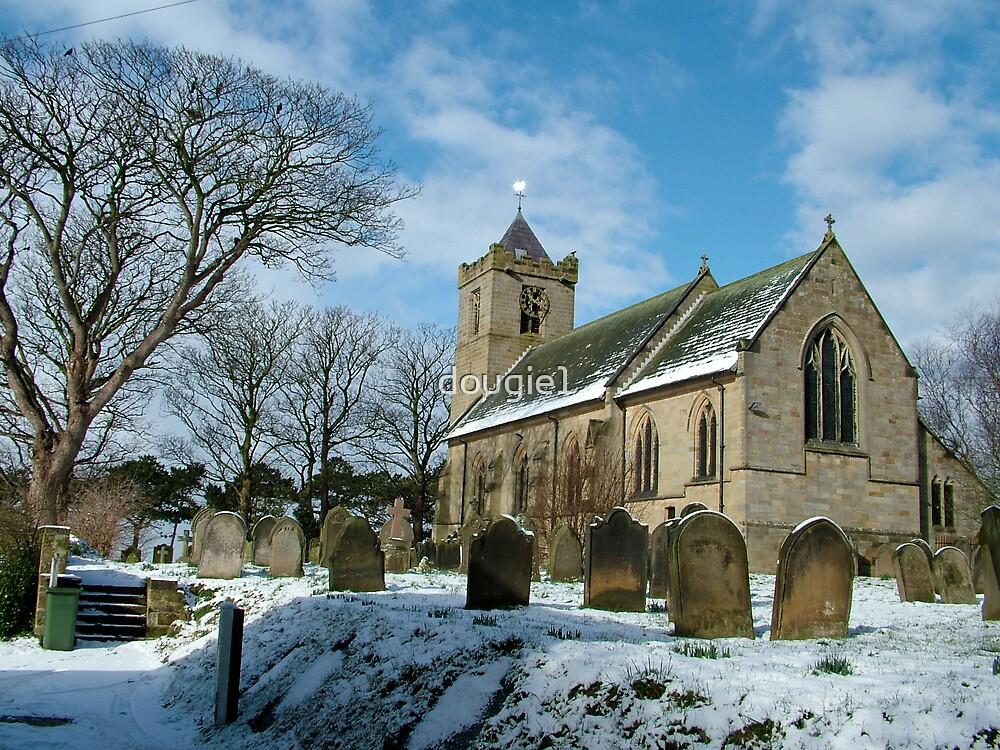Easington church//side view by dougie1