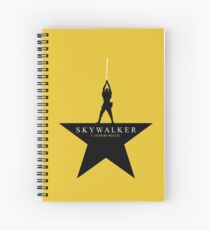 Skywalker: A Tattooine Musical Spiral Notebook