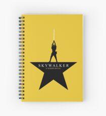 Skywalker: A Tattooine Musical Spiral Notebook