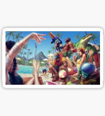 Pool Party  Sticker