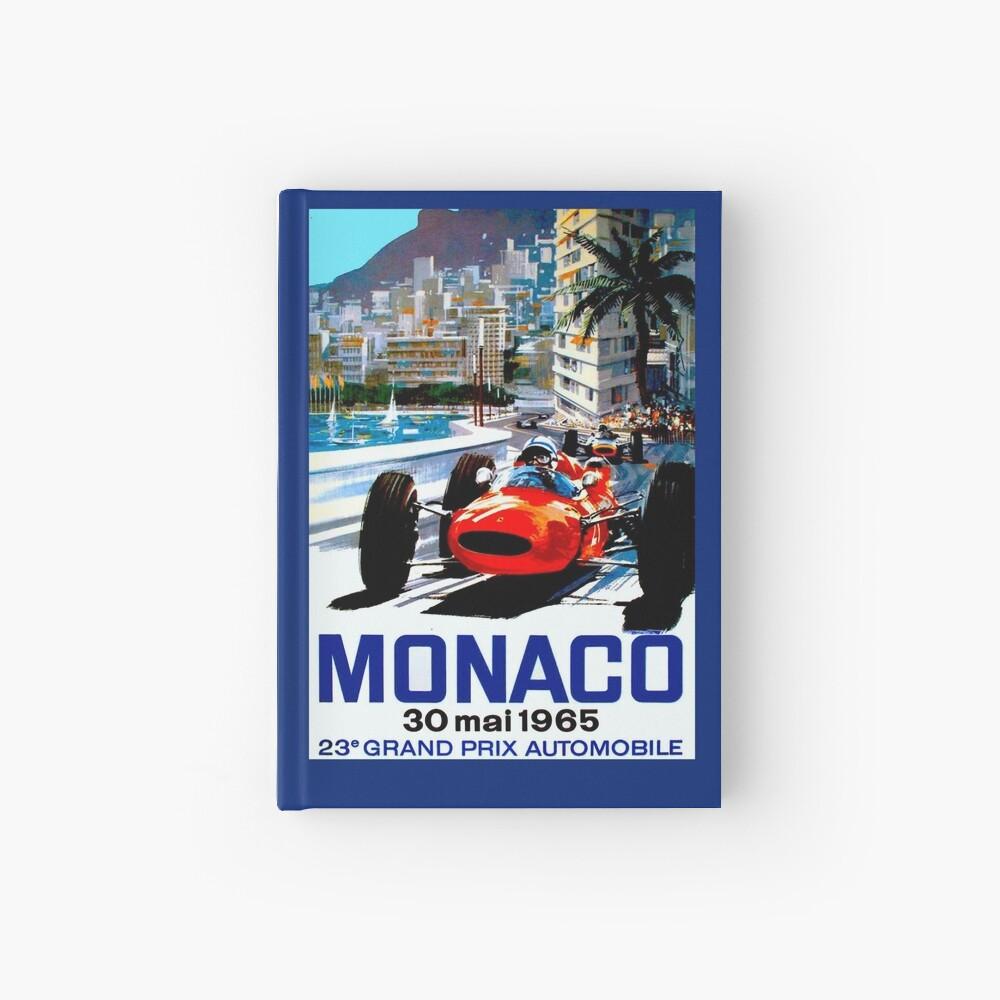 """MONACO GRAND PRIX"" Vintage Auto Racing Print Notizbuch"