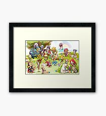 League of Legends Chibi Framed Print