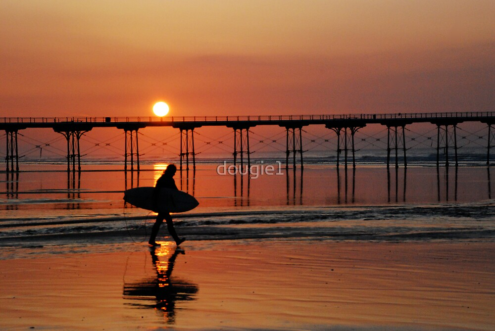 Saltburn Surfer by dougie1
