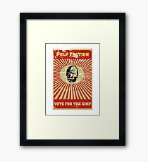 Pulp Faction - The Gimp Framed Print