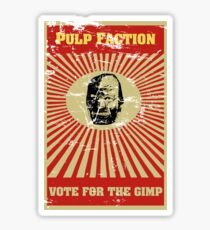 Pulp Faction - The Gimp Sticker