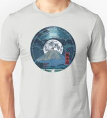 Mt. Fuji Night LP Sky Unisex T-Shirt