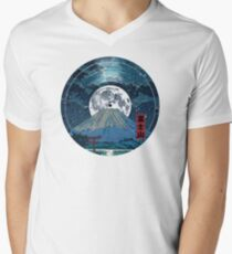 Mt. Fuji Night LP Sky T-Shirt