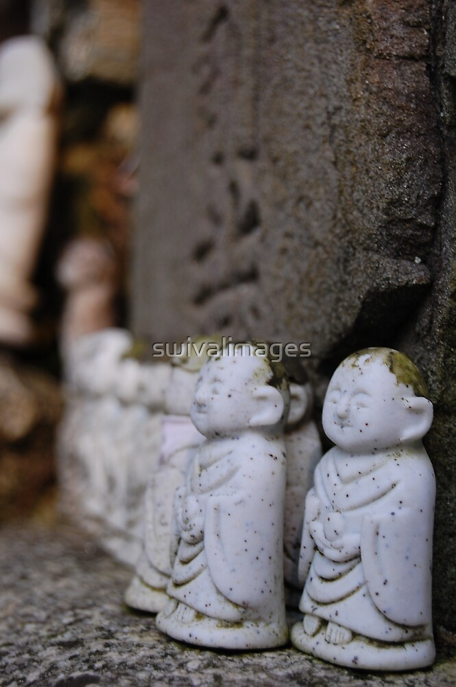 Japanese little budda by swivalimages