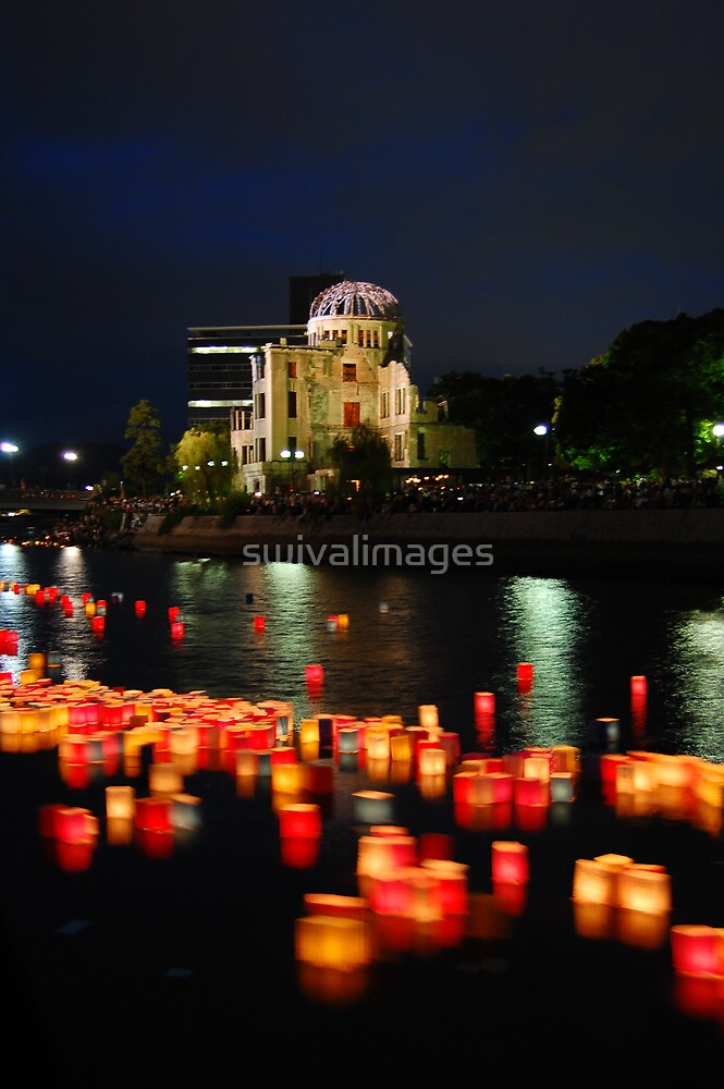 Atomic Bomb Memorial at Hiroshima by swivalimages
