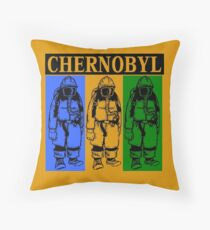 CHERNOBYL-3 (ALT) Throw Pillow