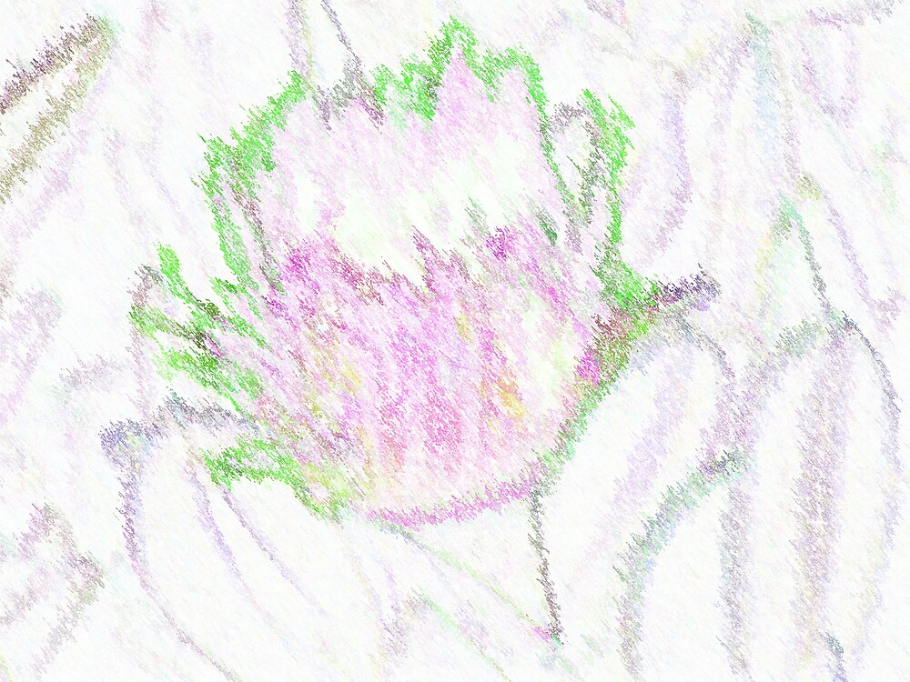 Painted Flower by paulwhiteuvme