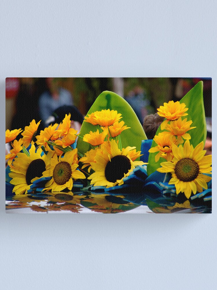 Alternate view of Traveling Sunflowers Canvas Print