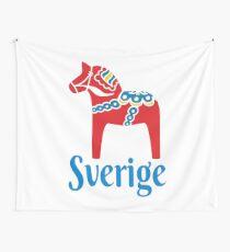 Sverige Dala Dalarna Sweden Pferd Dalecarlian Schwedisch Wandbehang