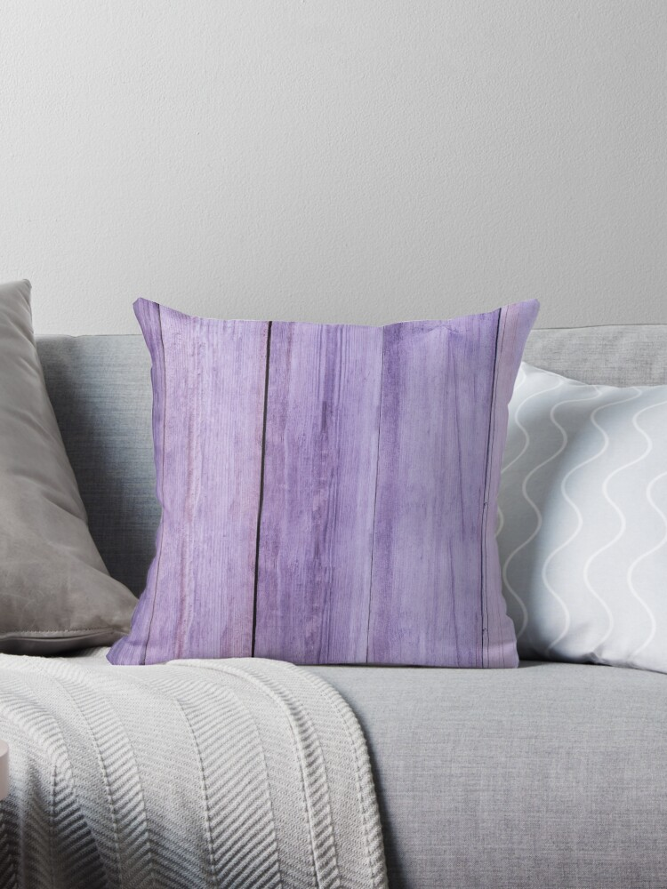 Vertical Mauve Wood Texture Pattern Print by mo3co8y