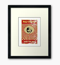 Pulp Faction - Jody Framed Print