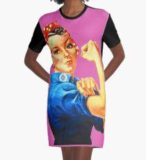 Rosie the Riveter  Graphic T-Shirt Dress