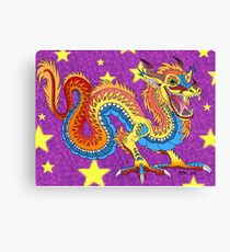 Chinese dragon of luck Canvas Print