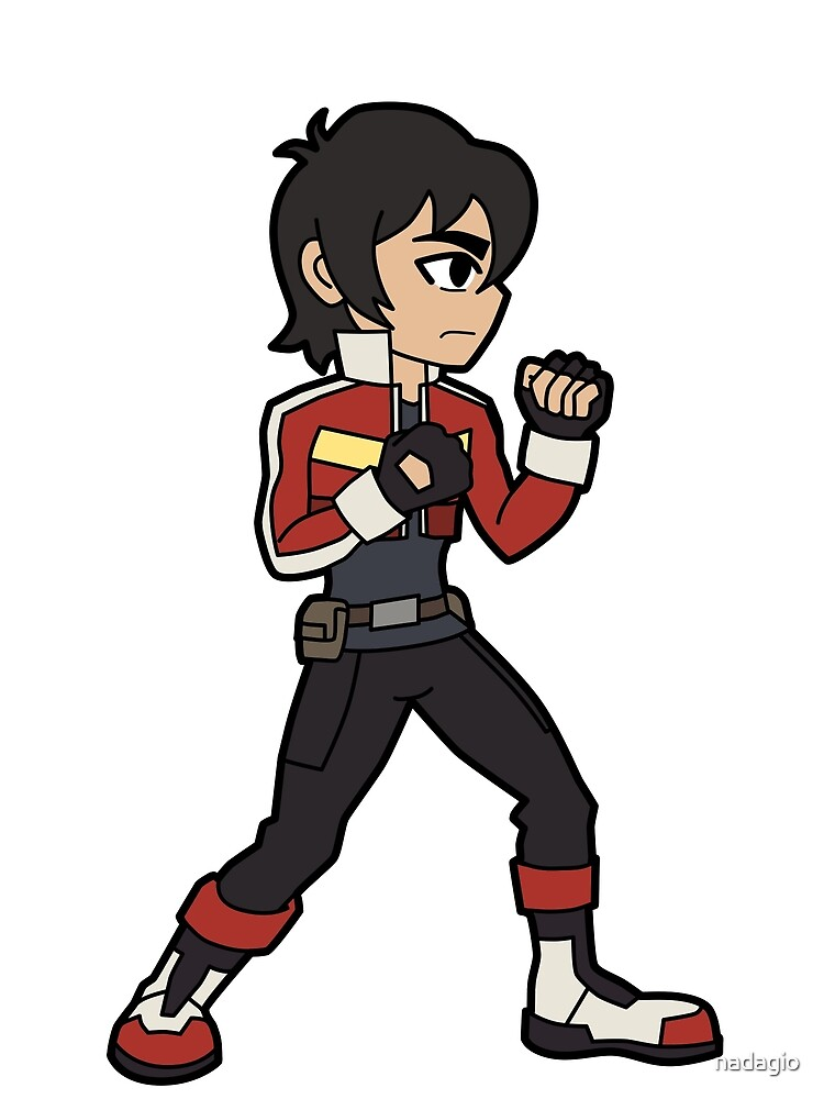 """Chibi """"Fight Me"""" Keith by nadagio"""