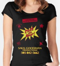 SAUL GOODMAN PRODUCTIONS Women's Fitted Scoop T-Shirt