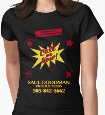 SAUL GOODMAN PRODUCTIONS Womens Fitted T-Shirt