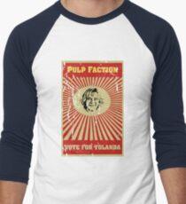 Pulp Faction - Yolanda Men's Baseball ¾ T-Shirt