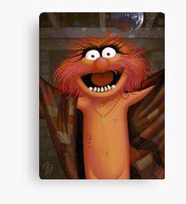 Muppet Maniacs - Animal as Buffalo Bill Canvas Print