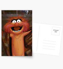 Muppet Maniacs - Animal as Buffalo Bill Postcards