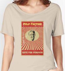 Pulp Faction - Pumpkin Women's Relaxed Fit T-Shirt