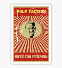 Pulp Faction - Pumpkin Sticker