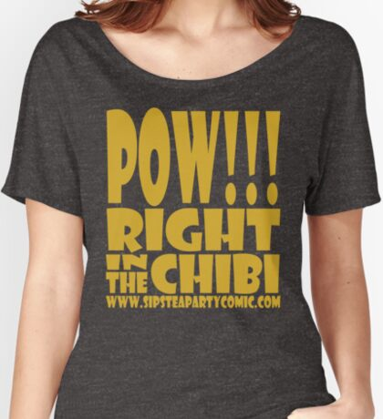 STPC: Pow!!! Right in the Chibi 1.0 Relaxed Fit T-Shirt