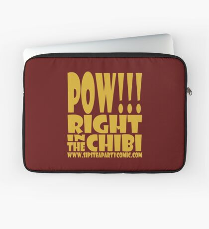 STPC: Pow!!! Right in the Chibi 1.0 Laptop Sleeve